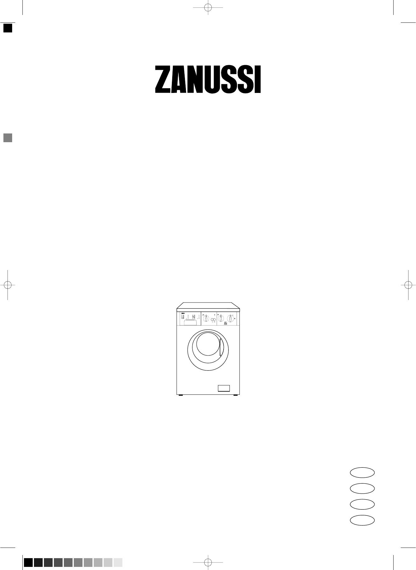 Zanussi aquacycle 1000 инструкция